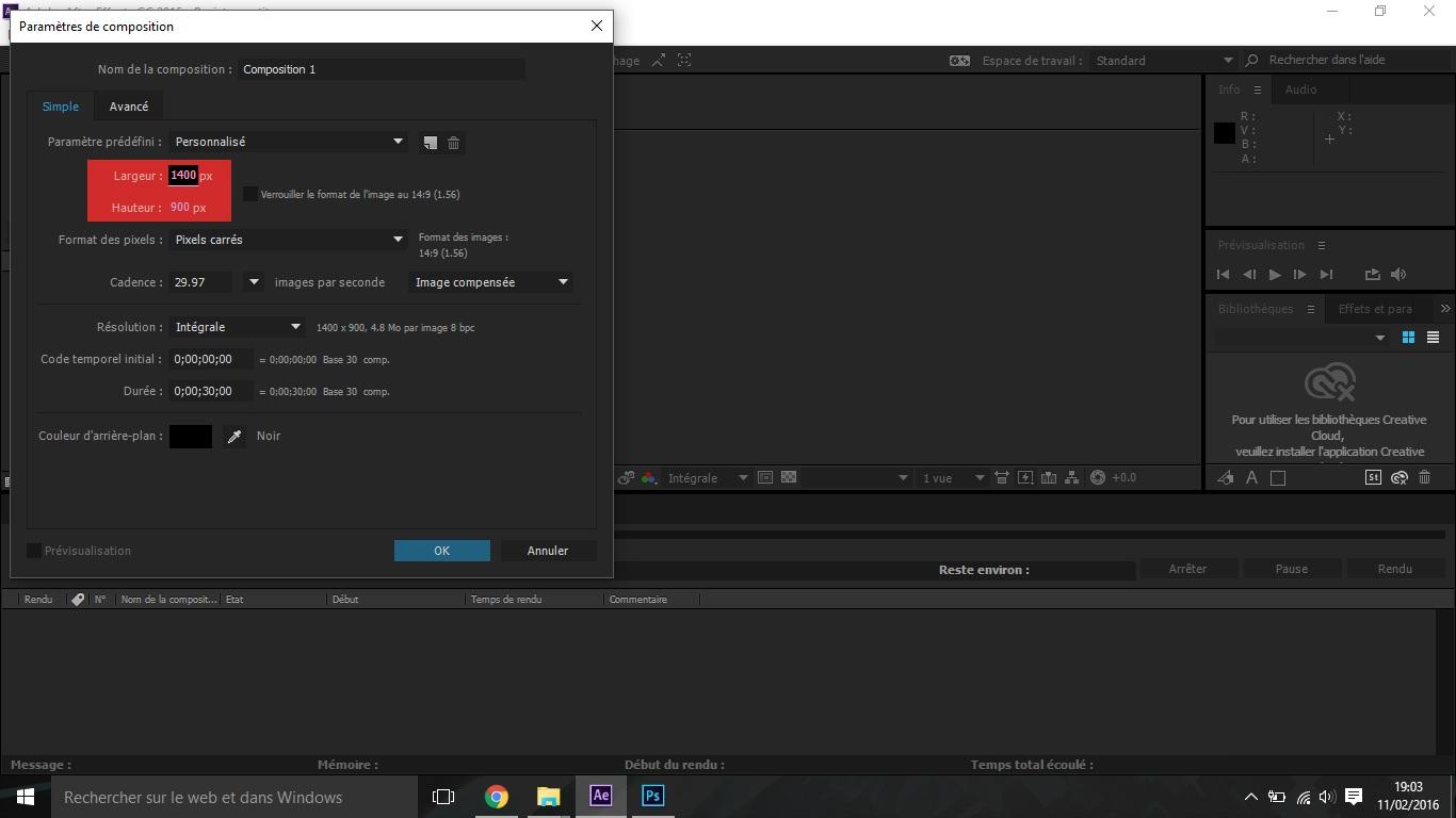 Etape2 conception d'une animation Conception d'une Animation Etape2