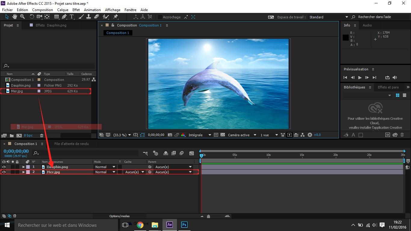 Etape4 conception d'une animation Conception d'une Animation Etape4