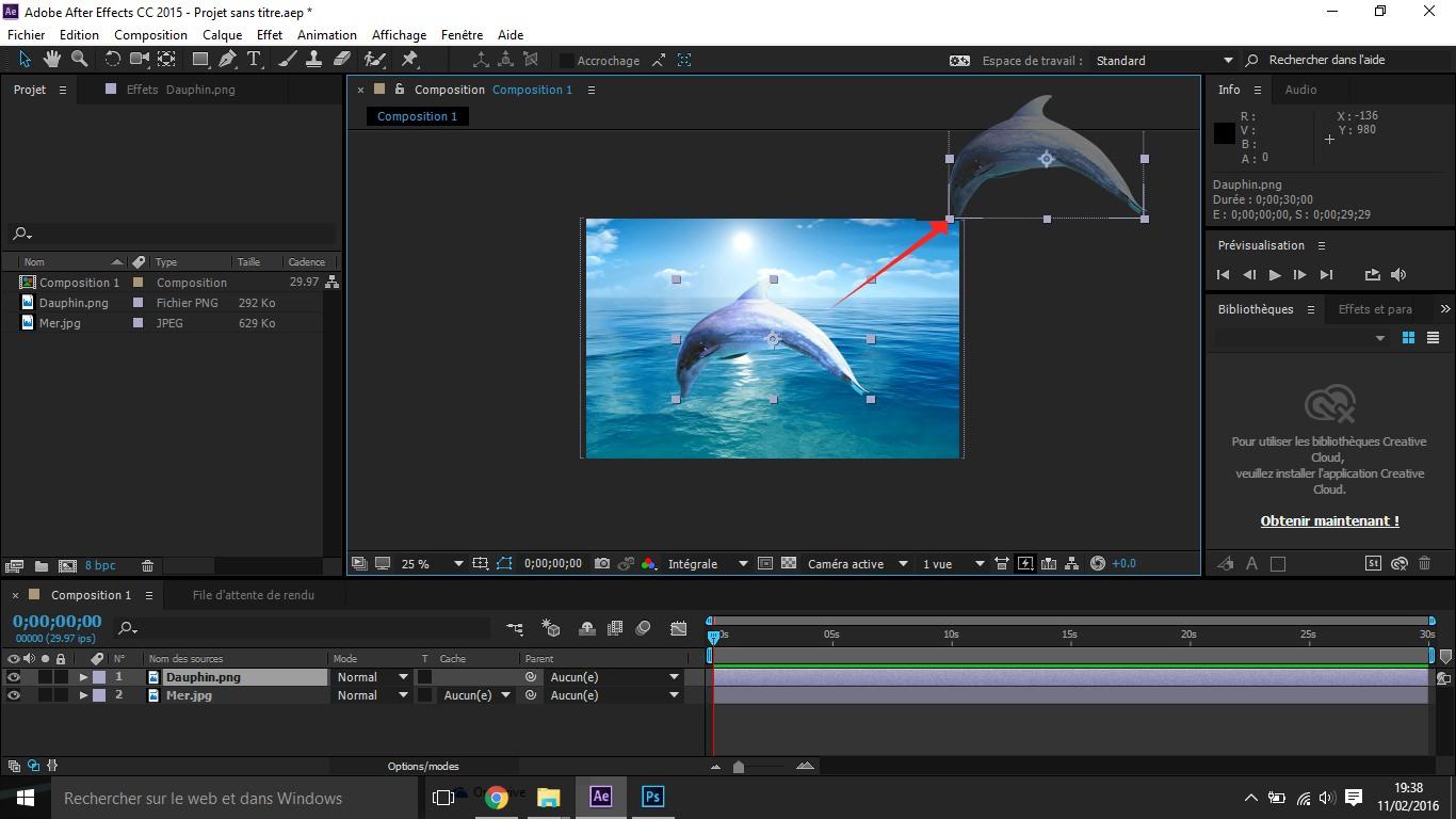 Etape5 conception d'une animation Conception d'une Animation Etape5