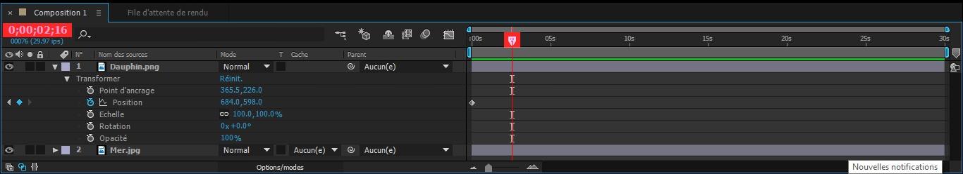 Etape7.6 conception d'une animation Conception d'une Animation Etape7