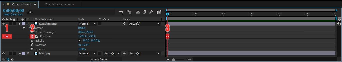 Etape7 conception d'une animation Conception d'une Animation Etape7