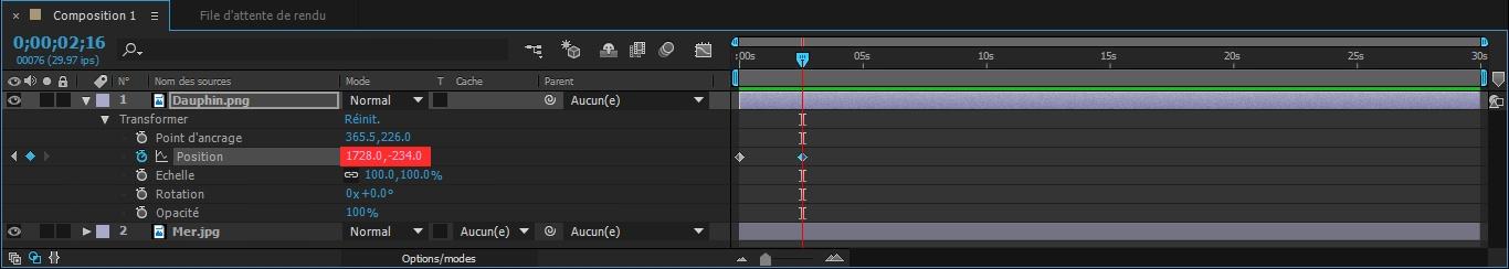 Etape9 conception d'une animation Conception d'une Animation Etape9